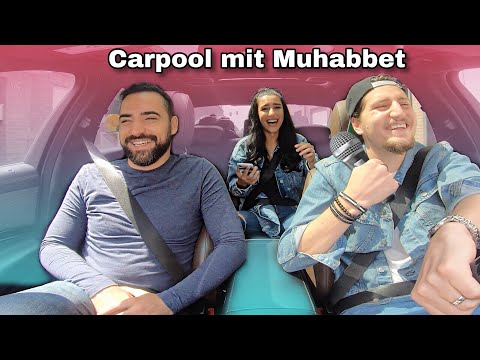 CARPOOL mit MUHABBET!! Throwback Edition 😍 | Ebru & Tuncay