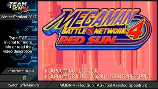Mega Man Battle Network 4 - TAS by NMarkro ~ TeamBN's Winter Festival 2017