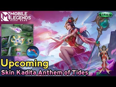 Upcoming Release New Skin Kadita Anthem of Tides   Effect Skill   Entrance Skin   MLBB