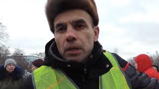 Смотреть видео Желтые жилеты на митинге в Москве  призывают народ к Майдану как в Париже онлайн
