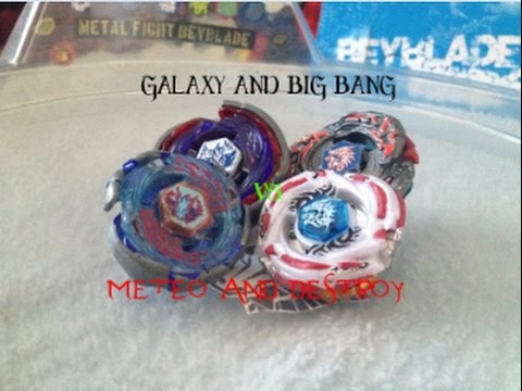 Galaxy and Big Bang Pegasus vs Meteo and L Drago Destroy!