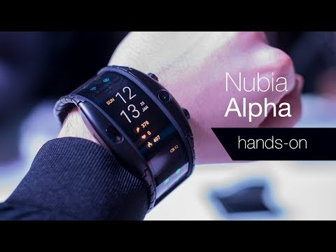 Nubia Alpha: Hands-on with a flexible smartwatch