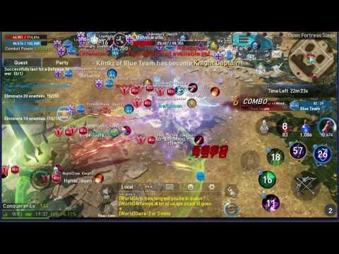 Lineage 2 Revolution Open Fortress Siege 30 vs 30 EP #3