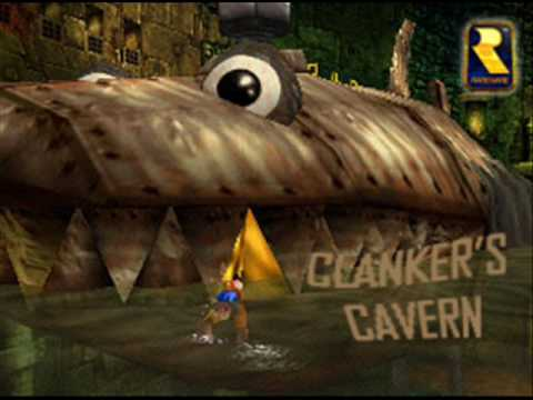 banjokazooie music clankers cavern youtube