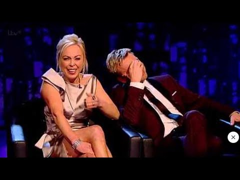 torvill and dean on Gemma Collins fight with Jason Gardiner.