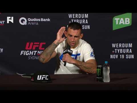 UFC Fight Night Sydney: Fabricio Werdum on Next Title Shot, Colby Covington Altercation