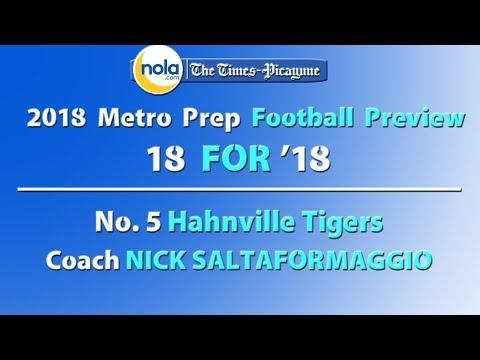 18 for '18: No. 5 Hahnville can't make it back to Dome without Pooka? Think again.