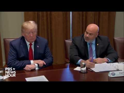WATCH: President Trump holds law enforcement roundtable on MS-13 at the White House