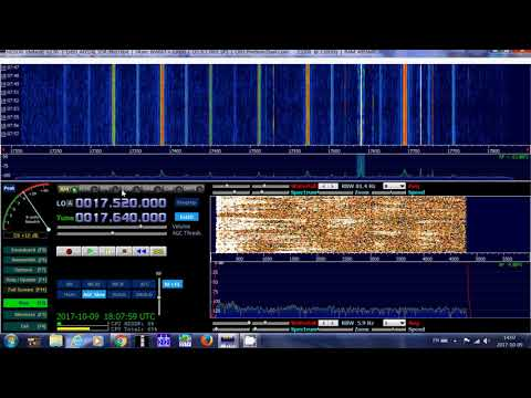 African Pathways Radio via Madagascar MWV 17640 Khz Shortwave