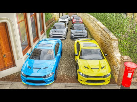 Forza Horizon 4 // 15$ Hellcat Charger Cash Days (1/4 Mile Shootout)