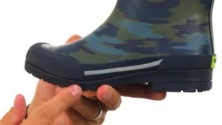 Western Chief Kids Classic Ex Camo Rain Boots (Little Kid/Big Kid) SKU: 8896352