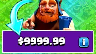 HOW MUCH HAS GENERAL TONY SPENT ON CLASH OF CLANS!?