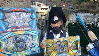 FISHING FOR MEGA SHARPEDO EX PREMIUM COLLECTION!!! POKE PIRATING A SECRET RARE PULL!! BEST BOX EVER!