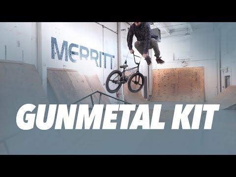 MERRITT BMX: GUNMETAL KIT