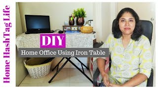 Small Space Organisation Ideas - DIY Home Office Organization