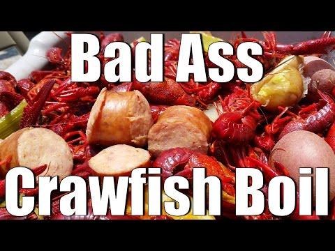Baddest Louisiana Cajun Crawfish Boil 2016 HD
