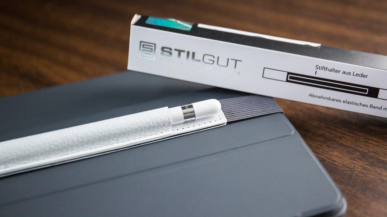 StilGut Leather Apple Pencil Holder for iPad Pro Review