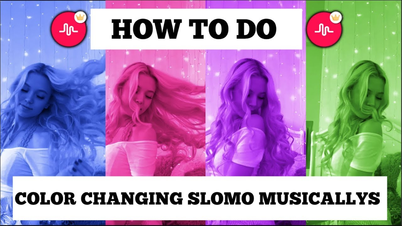 How to Make Color Changing Slo-Mo Musical.lys (Crowned Muser) - YouTube