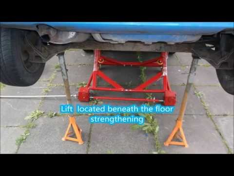 Mobile car lift  for lift small cars