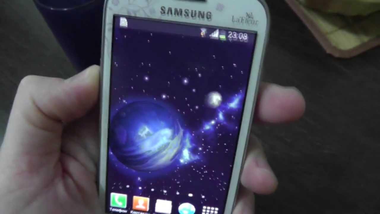 Samsung Galaxy S Iii Mini I8190 La Fleur Quick Review Youtube
