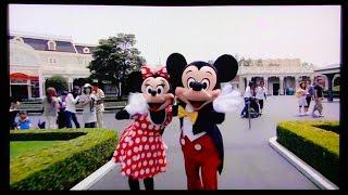オフィシャルホテルの部屋で見られる「TDR紹介ビデオ」Tokyo Disney Res...