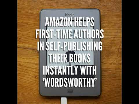 Amazon helps first-time authors in self-publishing