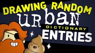 Random Urban Dictionary Drawing Challenge