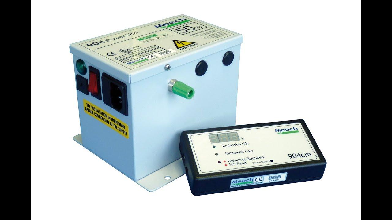 Current Monitoring System : Meech static eliminators ltd cm current monitoring