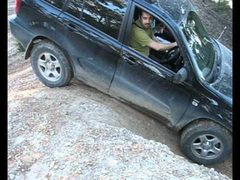 Nissan Xtrail Vs Toyota Rav4 Offroad Smashed It Youtube