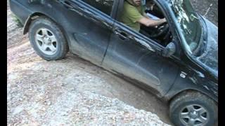 Nissan Xtrail vs Toyota RAV4 offroad...smashed it