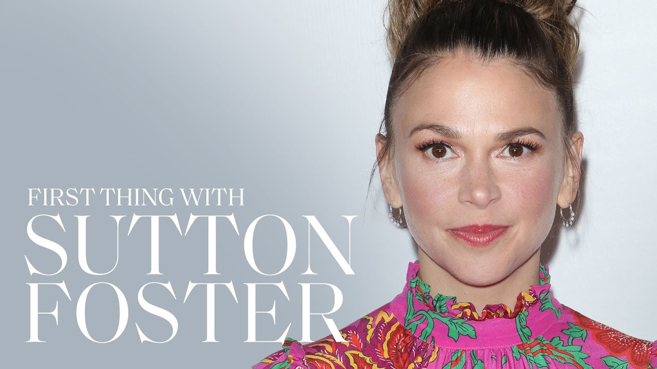 Sutton Foster Is the President of the 'Younger' Cast Crochet Club | First Thing With