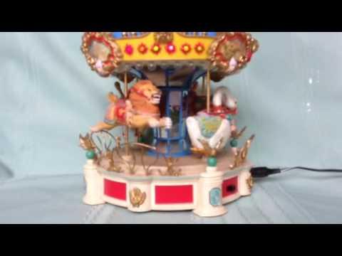 Enesco Carousel Music Box