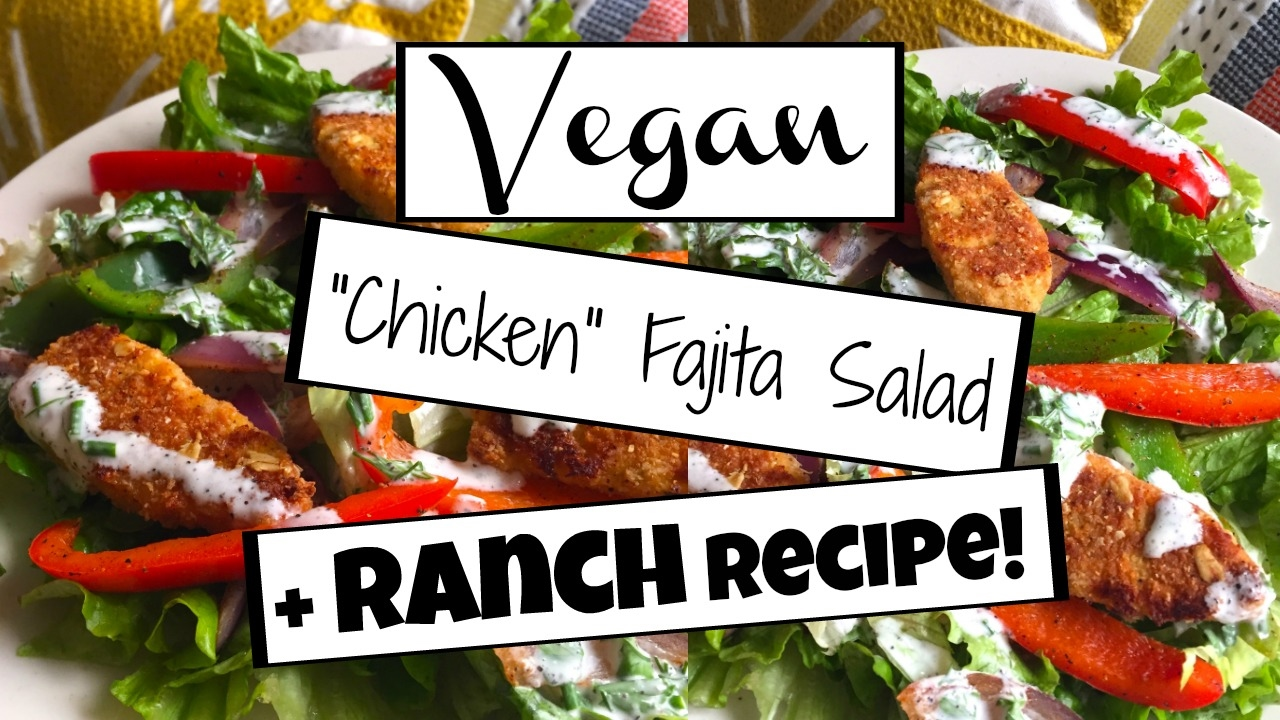 5 Epic Vegan Salad Recipes You Need To Try 3 Vegan Ranch