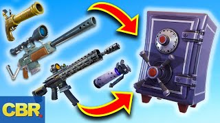 This Is Why Fortnite Vaulted Those Weapons For Season 10