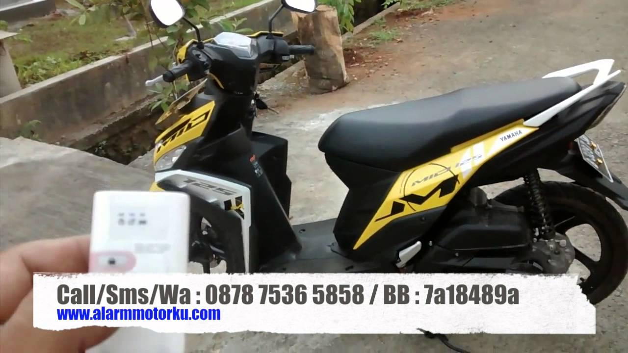 Alarm Two Way Mp Yamaha Mio M3 Youtube
