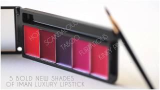 NEW! IMAN Lip Affair Collection Thumbnail