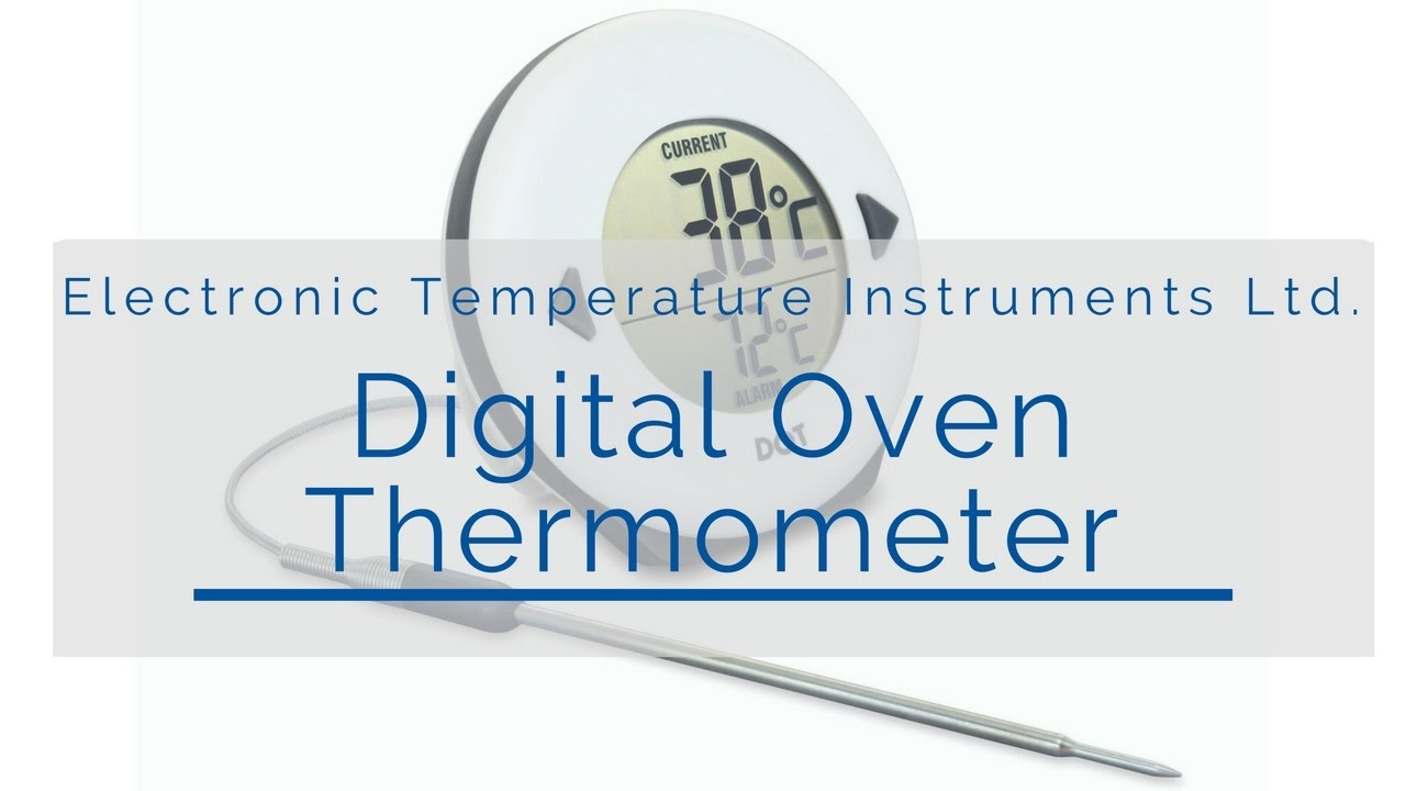 Digital Oven Thermometer (DOT) - YouTube