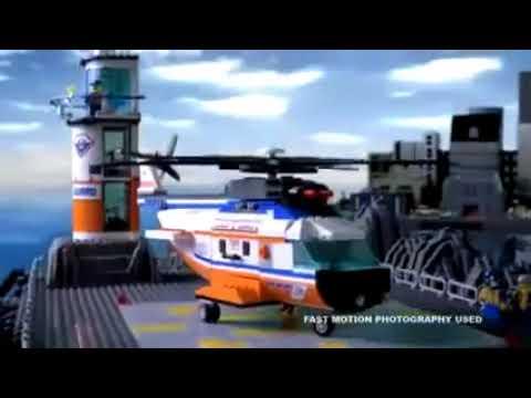 Lego 7738 Coast Guard Helicopter Life Raft Lego 7739 Coast Guard