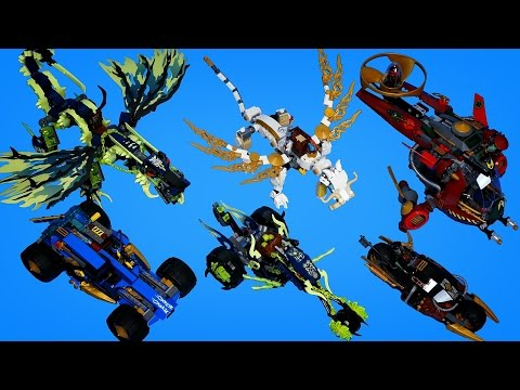 고스트 닌자고 하반기 레고 닌자고 전제품 빠른 조립 동영상 Ninjago 2015 All Summer sets