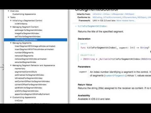 ios 스위프트(swift) 강좌 - 미니웹브라우저 만들기 5