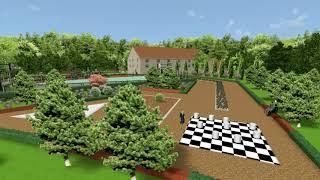Ландшафтный дизайн парка