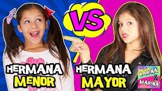 Gambar cover 🌈 ¡¡HERMANA MAYOR VS HERMANA PEQUEÑA!! POR UN DÍA 🎀 ¡¡EXPECTATIVA vs REALIDAD de tener HERMANOS!!