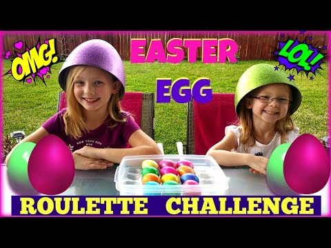 EASTER EGG ROULETTE CHALLENGE - Magic Box Toys Collector