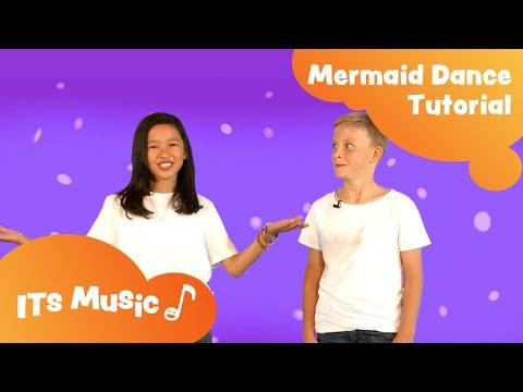 Mermaid Song | Dance Tutorial | ITS Music Kids Songs thumbnail