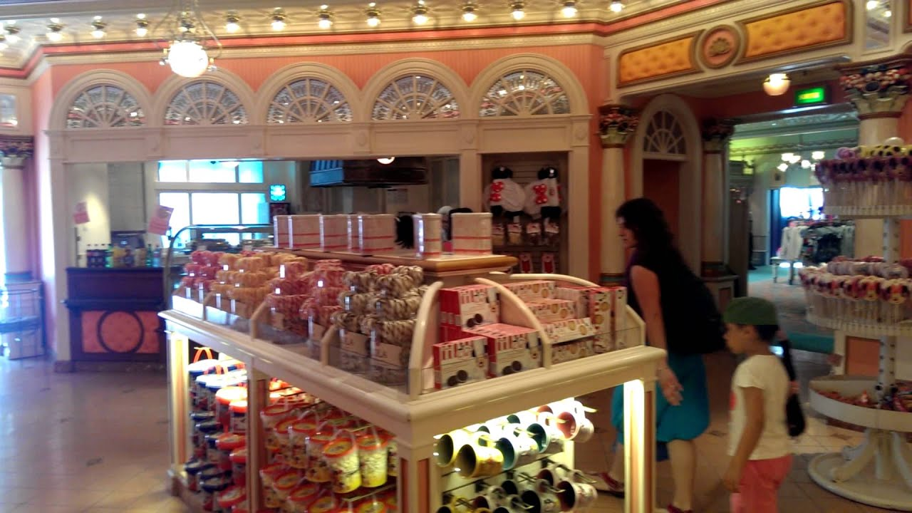 Boardwalk Candy Palace Disneyland Paris Youtube