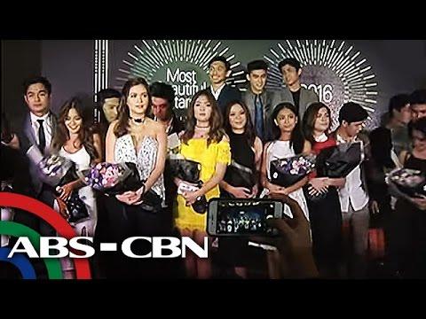 TV Patrol: 100 pinakamagagandang artista sa showbiz, pinangalanan