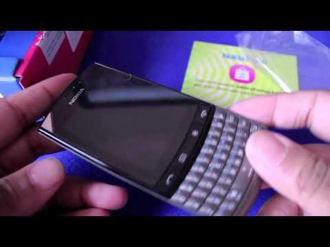Nokia Asha 303 Unboxing