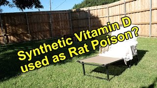 Synthetic Vitamin D Rat Poison