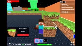 Très probablement le meilleur jeu Minecraft ROBLOX