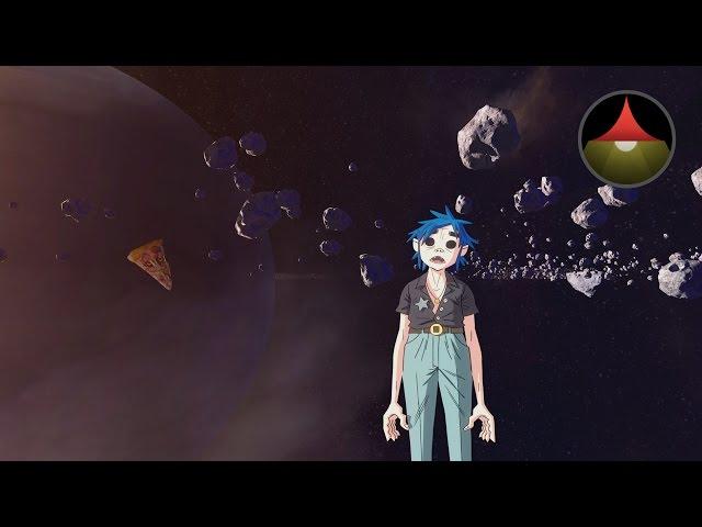 Gorillaz presentó Saturnz Barz, cortometraje animado en 360°